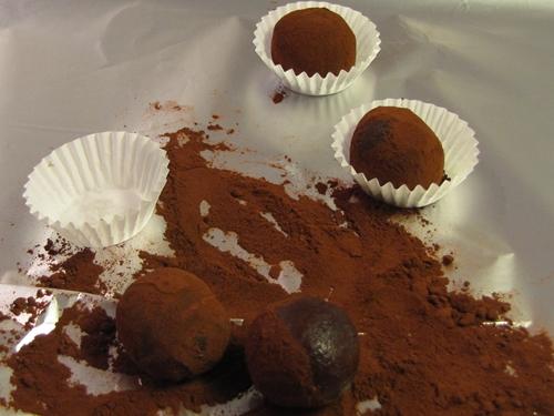 Pralinen Kakao