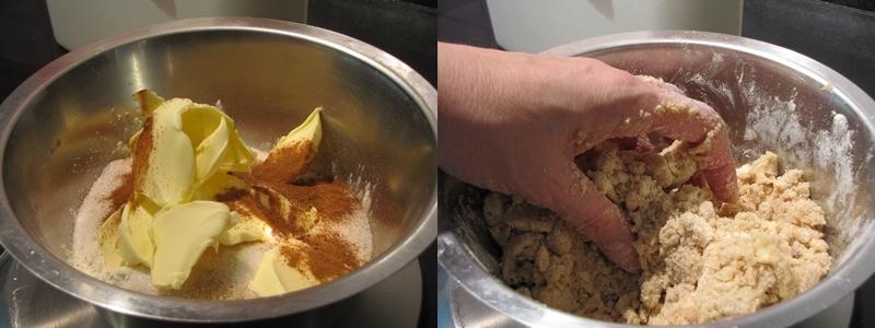 Zwetschgenkuchen Streusel Kombi