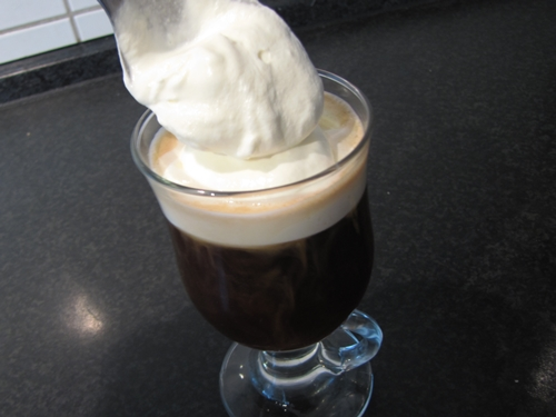 Irish Coffee Sahne