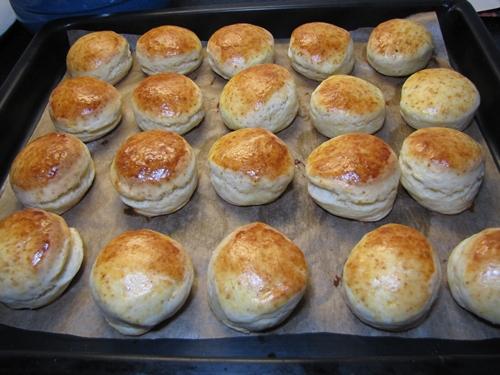 Scones gebacken