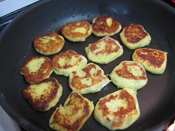 Kartoffelplätzchen Pfanne