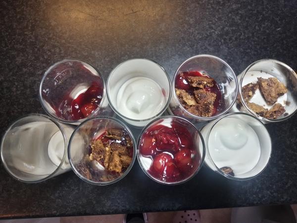 Trifle von oben